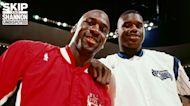 "Skip Bayless: Michael Jordan & Shaq on the same team would ""terrorize the NBA"" I UNDISPUTED"