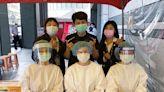 永慶房屋贊助帳篷為打疫苗長者擋豔陽 送防護面罩力挺前線防疫人員