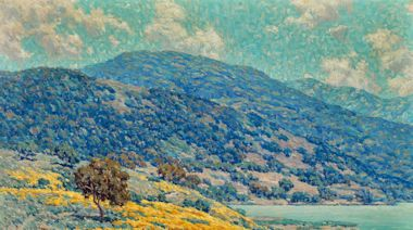 Crocker Museum assembles largest collection of Granville Redmond paintings in 30 years