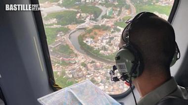 西貢區爆竊案增 警跨部門行動海陸空巡邏搜查 | 社會事