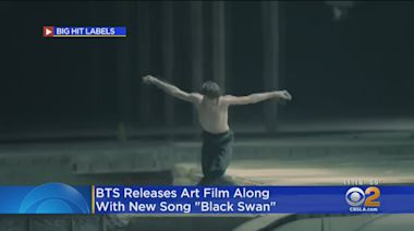 BTS Releases Art Film With New Single 'Black Swan'