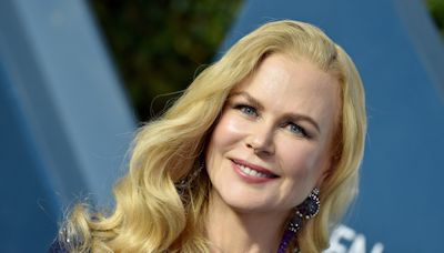 Nicole Kidman Looks So Different With This Strawberry Blonde Pixie Cut