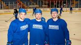 Hound-Doggs playing playoff hockey for Maine Nordiques