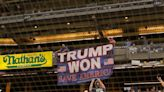 A man keeps unfurling 'Trump Won' banners at MLB ballparks, but he hasn't been arrested