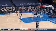 Jaylen Hoard with an and one vs the Utah Jazz