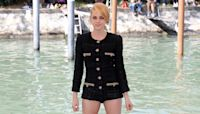 Kristen Stewart Wows With New Strawberry Blonde Hair and Tiny Shorts At Venice Film Festival