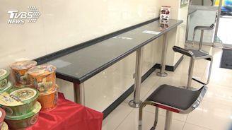 超商座位區改「梅花座」 撤桌椅最遠隔1.5m