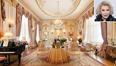 Joan Rivers' New York Penthouse Listed for $38 Million — Plus, Why She Believed It's Haunted