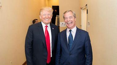 右翼聚首|法拉奇訪美與特朗普暢談時政 稱對方「努力思考」2024年再參選 對英女皇喪夫感難過 | 蘋果日報
