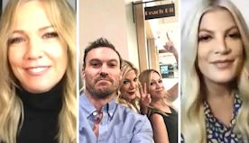 Tori Spelling and Jennie Garth on Brian Austin Green and Their Own Struggles in the Spotlight (Exclusive)
