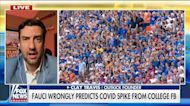 Clay Travis: COVID infections have dropped across the south, defying Fauci's predictions