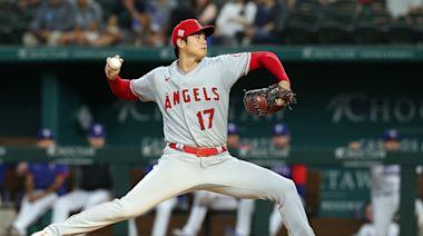 【影】MLB》大谷翔平優質先發 天使連勝遊騎兵