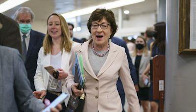 Sen. Susan Collins won't support abortion rights bill
