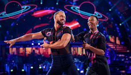John Whaite admits he burped in Johannes Radebe's face as he says being in 'Strictly' is not sexy