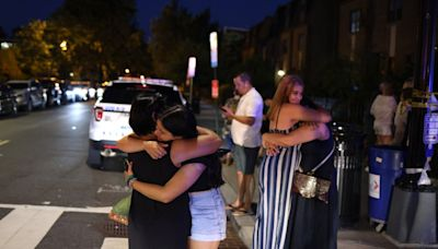 Diners flee upmarket restaurant favoured by Biden as two people shot in downtown Washington DC