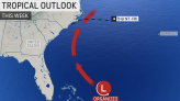 More tropical trouble may develop off the East Coast