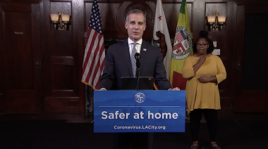 """Los Angeles Mayor Eric Garcetti Issues Copycat Safer-At-Home Order: """"It's Time To Cancel Everything"""" – Updated"""