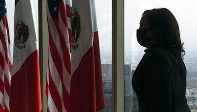 Kamala Harris will visit southern border on Friday as Trump takes credit