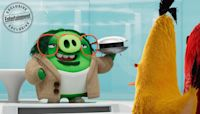 Like 'Q from James Bond' but a pig! Meet Sterling K. Brown's Garry in Angry Birds Movie 2