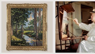 Winston Churchill's Rarely-Seen Painting is for Sale