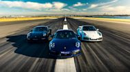 Porsche Holds Launch Control Event For New 911 Turbo S In Australia