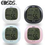 EDSDS液晶顯示溫溼度計時鐘 (4色) EDS-A49