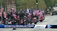Harley riders hold parade for fallen veterans