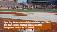 Texas lands just outside the top 10 in Sporting News' preseason college football rankings
