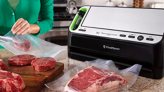 Tired of wasting food? Save it in your freezer with these vacuum sealers.