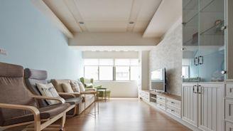 當系統家具遇見北歐風!替25坪中古屋加入海量收納