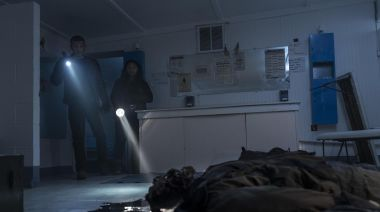 The Walking Dead: World Beyond showrunner on that bloody cliffhanger