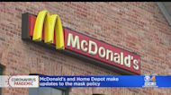 McDonald's, Home Depot Update Face Mask Policy