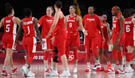 Canada shows fight but late errors cost them in opener vs. Serbia