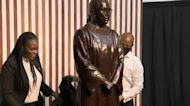 Ruth Bader Ginsburg statue unveiled in New York City