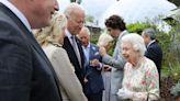 Photos show Joe Biden meeting Queen Elizabeth for the first time as president