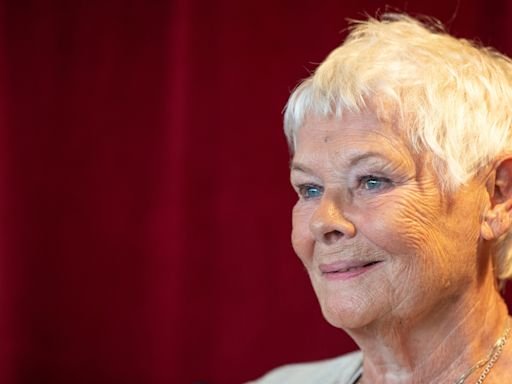 Dame Judi Dench tells of saving her goldfish with the kiss of life