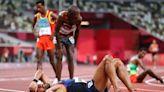 東奧》法國馬拉松跑者超沒品行徑 網轟:狗都不如