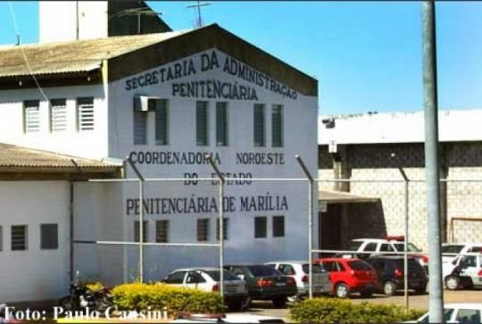 Penitenciária de Marília é a mais superlotada do estado ...