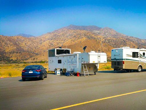 行動空中交通管制新應用:對抗加州野火