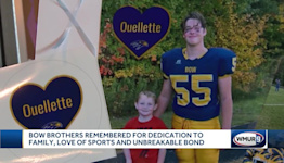 Hundreds gather to celebrate the Ouellette brothers, who died in a car crash
