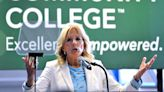 Jill Biden pushes for two years of free community college at Royal Oak stop