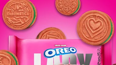 Oreo Releases New Lady Gaga-Themed Bright Pink Cookies