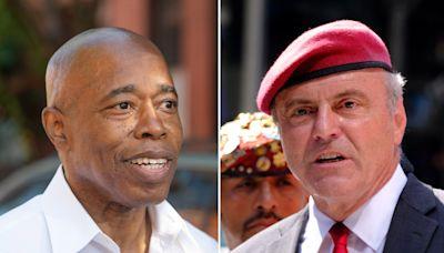 Eric Adams and Curtis Sliwa throw punches ahead of final NYC mayoral debate