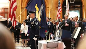 Veterans Honored At State House Ceremony | Kiss 108