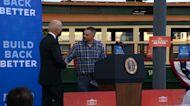 Home in Scranton, Biden plugs $2T plan to revive US