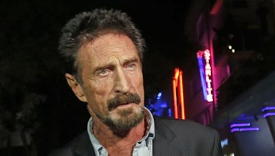 Antivirus pioneer John McAfee found dead in prison after extradition ruling
