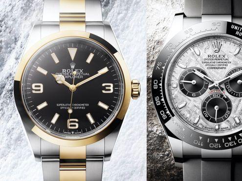 2021勞力士錶款隻隻都很想要!新版Rolex Explorer、隕石錶面地通拿登場 | Cosmopolitan HK