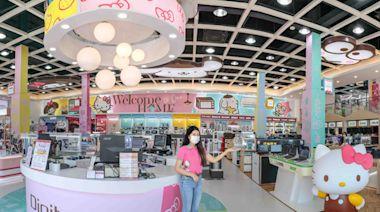 Hello Kitty公仔全店造景!全台首間三麗鷗X全國電子主題門市