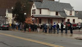 Hundreds wait in line for first day of legalized recreational marijuana sales