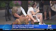 Newbury Street Will Close To Car Traffic On Three Days In August